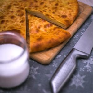 пирог осетинский с картофелем и сыром пекарня бейкер стрит