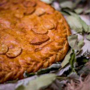 Пирог с курицей пекарня бейкер стрит