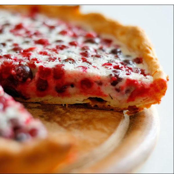 заказать пирог с брусникой
