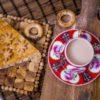 Пирог с курицей и картофелем пекарня бейкер стрит