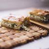 Пирог с луком и яйцом пекарня бейкер стрит