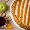 Пирог с творогом и абрикосом пекарня бейкер стрит