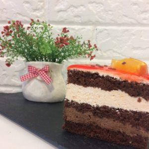 торт апельсиново шоколадный пекарня бейкер стрит