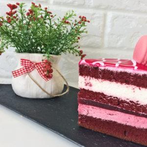 торт зимняя сказка