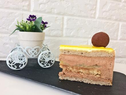 торт карамельный банан пекарня бейкер стрит