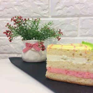 торт клубника киви пекарня бейкер стрит