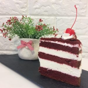 торт красный бархат пекарня бейкер стрит