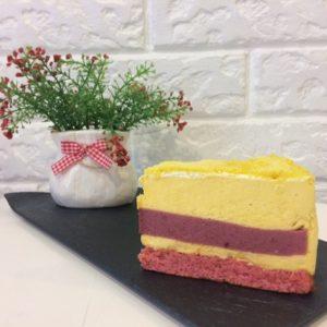 торт Манго-клубника пекарня бейкер стрит
