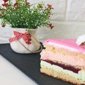 торт мята малина пекарня бейкер стрит
