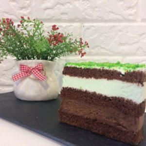 торт Мята-шоколад пекарня бейкер стрит