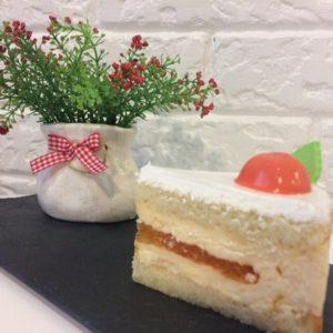 торт персик пекарня бейкер стрит